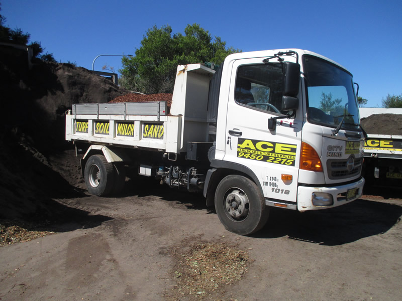 Ace Landscape & Turf Supplies Trucks